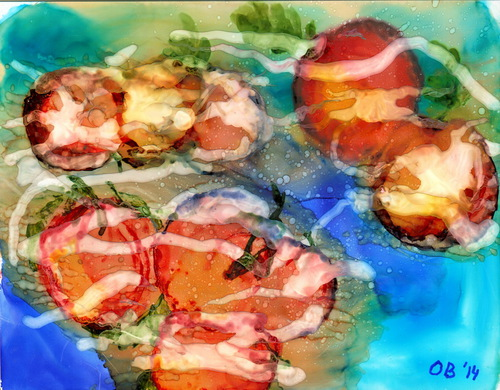 Alcohol Ink Painting 10