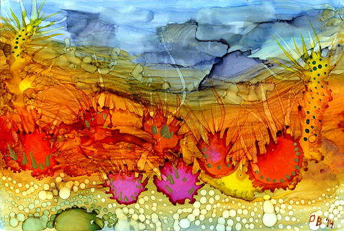 Alcohol Ink Painting 38